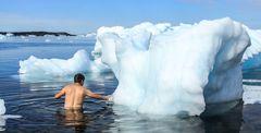 Der Eisschwimmer