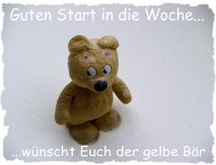 Der elbe Bär wünscht Euch einen guten Start in die Woche