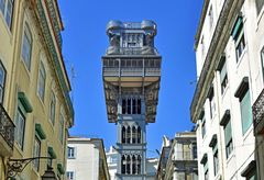Der Elevador de Santa Justa in Lissabon
