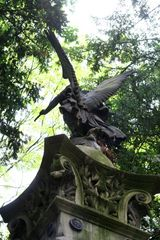 Der Engel auf dem Kriegerdenkmal