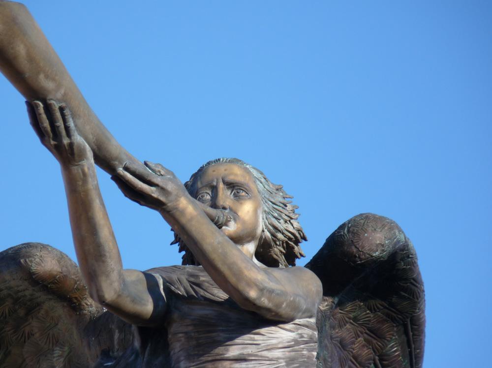 Der Engel von der freien Republik Uzupis