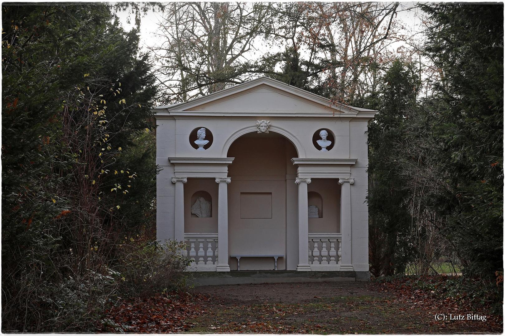 Der englische Gartensitz im Wörlitzer Park