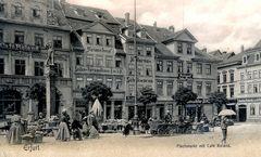 ... der Erfurter Fischmarkt ...
