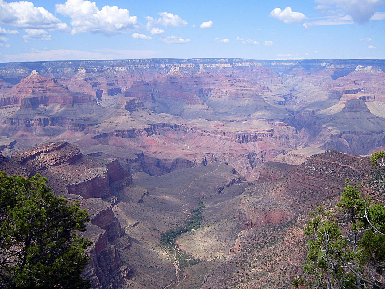 Der erste Blick auf den Grand Canyon