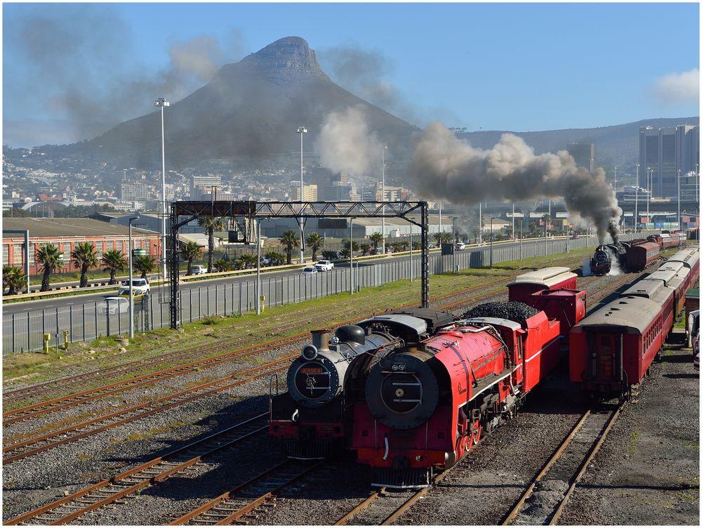 Der erste Dampfzug