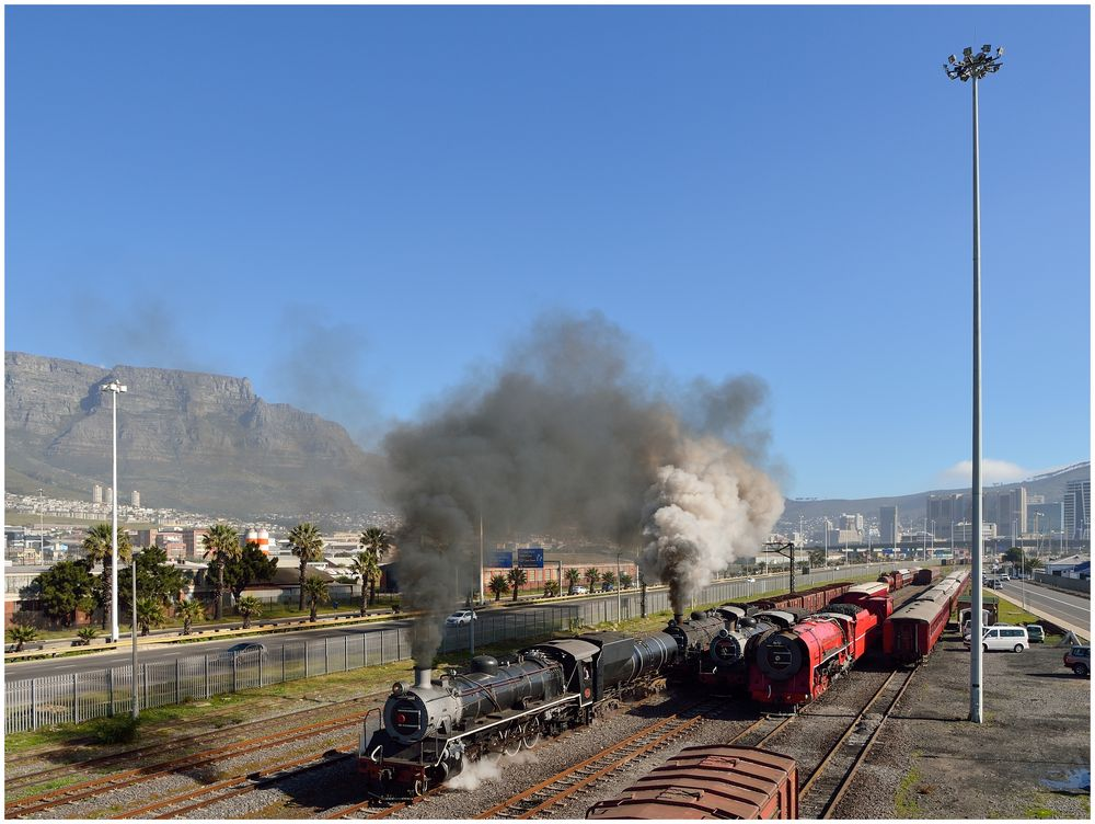 Der erste Dampfzug II