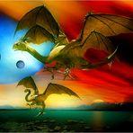 ...der Erste Flug der Drachen