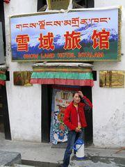 Der erste Morgen in Tibet...