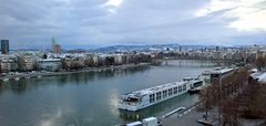 Der erste Schnee in Basel