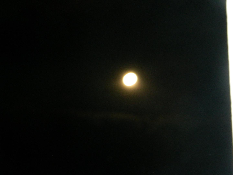 der erste Versuch den Mond aufzunehmen 2
