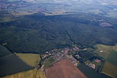 Der Ettersberg von oben