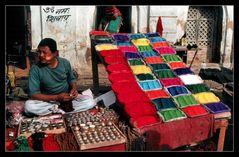Der Farbenverkäufer von Kathmandu