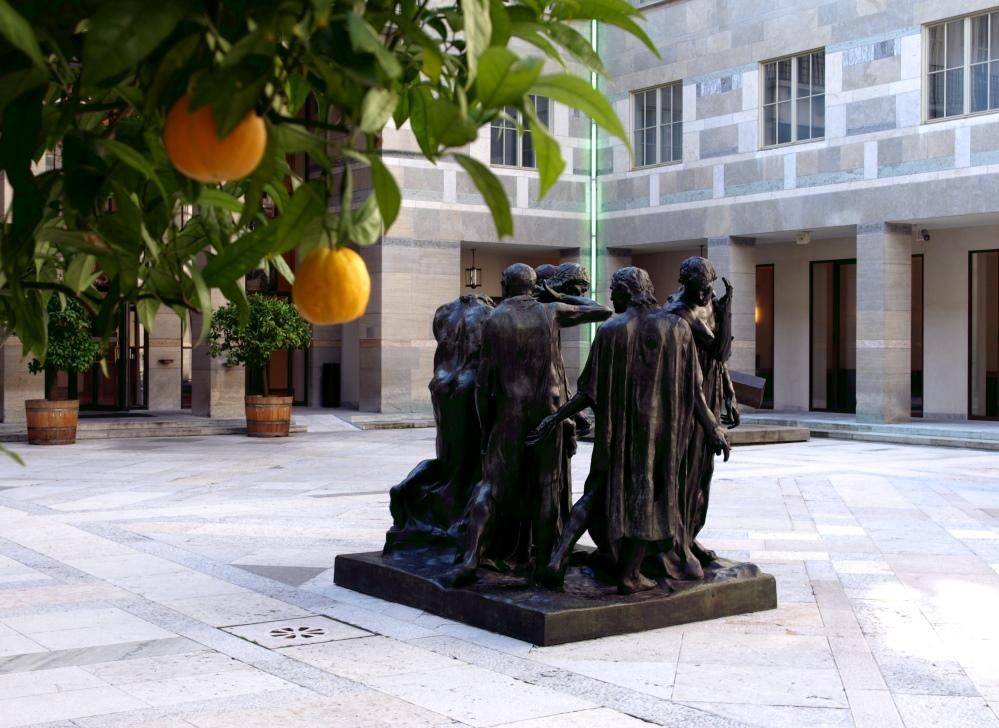 Der Farbtupf oder Orangen im Kunstmuseum Basel