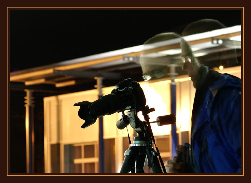 Der (fast) unsichtbare Fotograf
