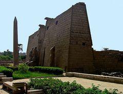 Der fehlende zweite Obelisk