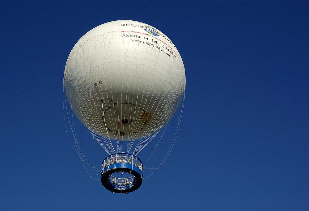 Der Fesselballon..