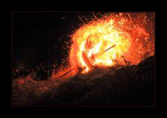 Der Feuergeist... - Osterräderlauf Lügde 2014