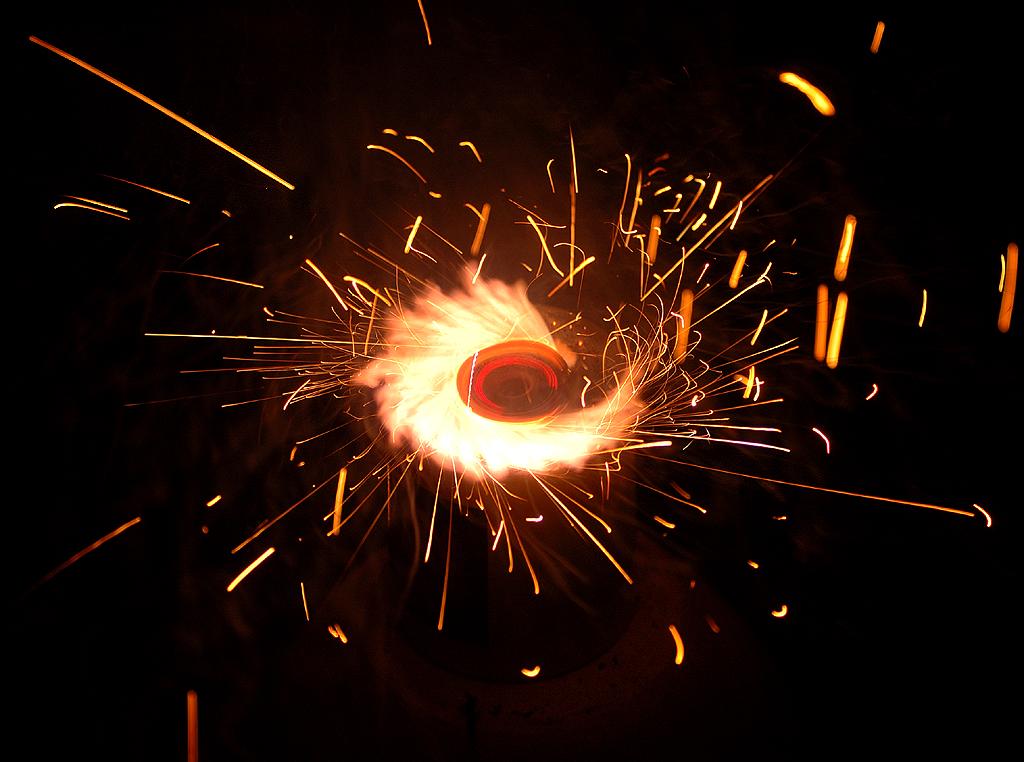 Der Feuerkreisel....