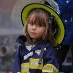 der Feuerwehr-Nachwuchs war auch schon da!