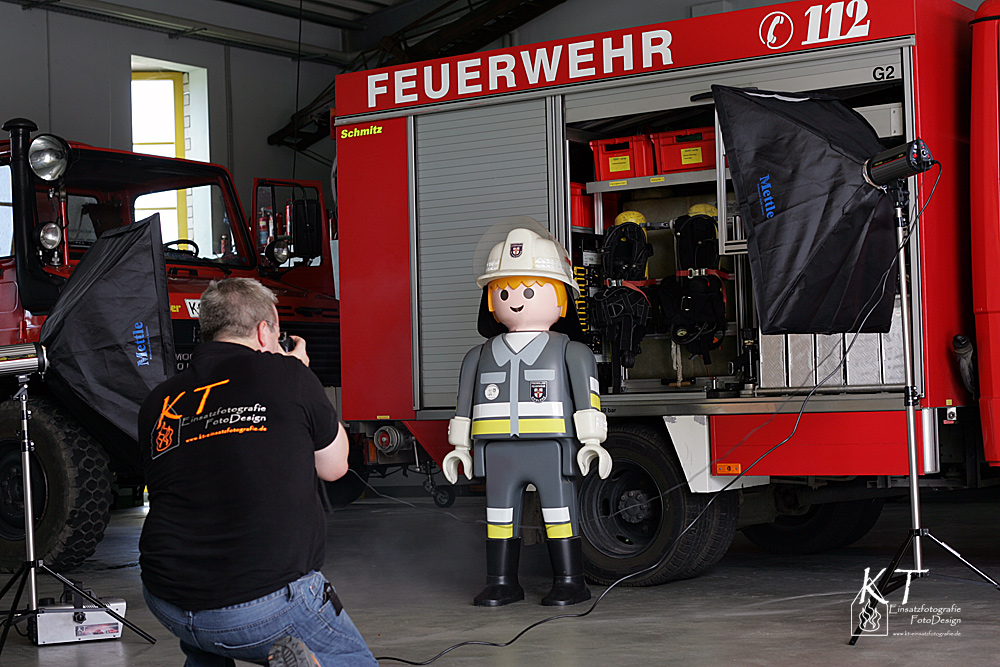 Der Feuerwehrmann....