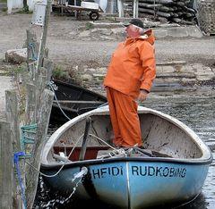 der Fischer und sein Boot