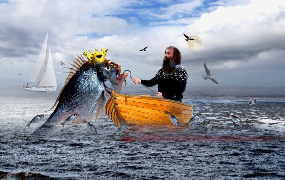 der Fischer und seine Frau.