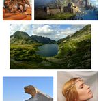 Der Fjord Collage