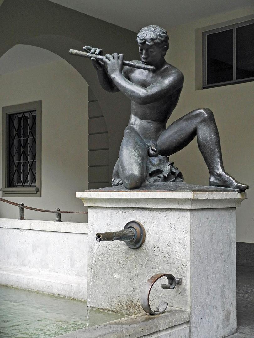 Der Flötenspieler von Bern