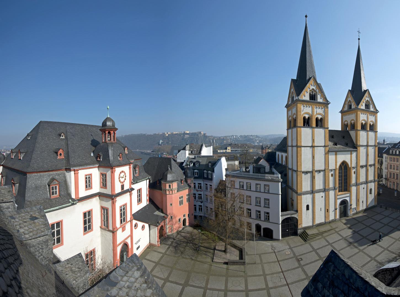 Der Florinsmarkt in der Altstadt von Koblenz Foto & Bild | deutschland, europe, rheinland-pfalz