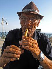 Der Flotenspieler (Sizilien)  / il flautista (Sicilia)