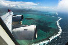 Der Flug nach Mauritius