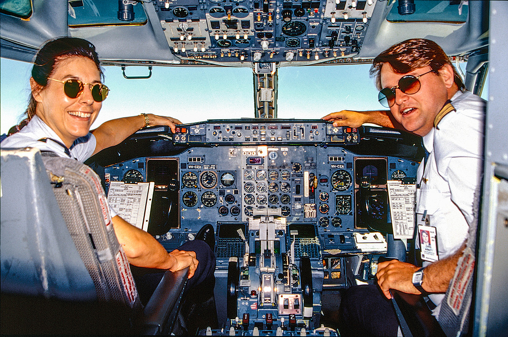 Der Flug zum Uluru