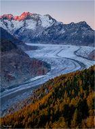 Der Fluss aus Eis