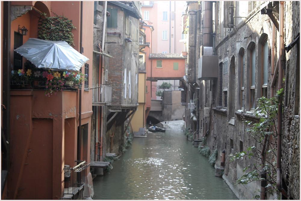 Der Fluss in Bologna