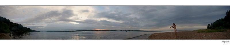 Der Fluss Volga