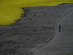 Der Fotograf am El Golfo