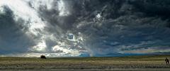 ... der Fotograf, der Busch und die Weite Patagoniens ...