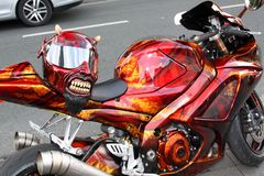 der freundliche Biker