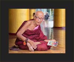 Der freundliche Mönch...