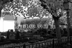 Der Friedhof auf dem Holm