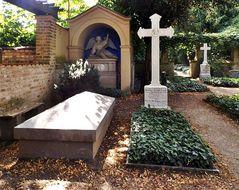 Der Friedhof von Bornstedt