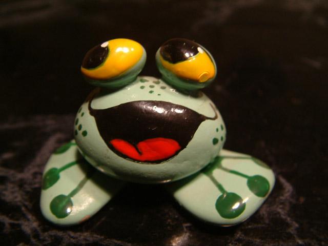 Der Frosch mit der großen Klappe