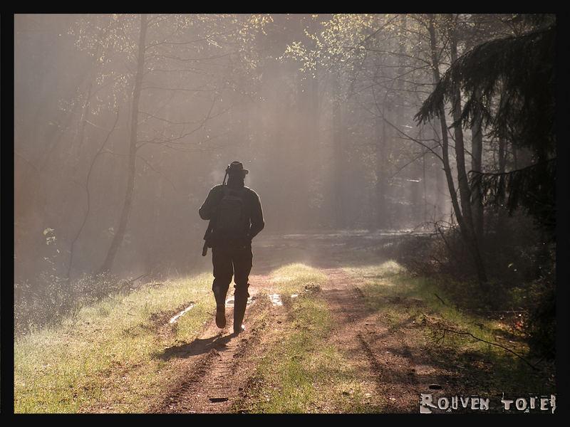 Der frühe Jäger ....