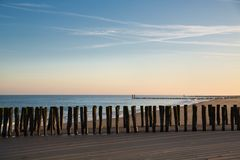 ... der frühe Morgen am Meer ...