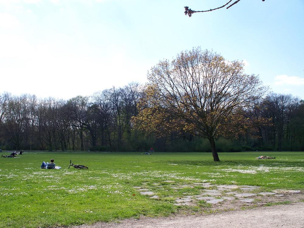 Der Frühling ist in Berlin gekommen