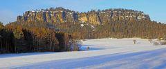 Der für mich schönste Tafelberg in der Sächsischen Schweiz ist der Pfaffenstein...