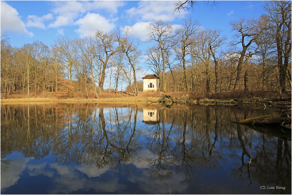 Der Fürstensitz am Wallwitzsee