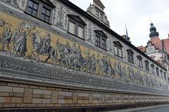 Der Fürstenzug in Dresdens Altstadt