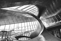 Der futuristisch anmutende Bahnhof von Arnheim