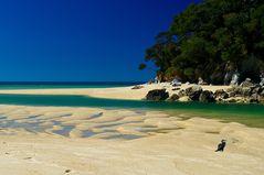 Der ganze Strand für mich alleine ...